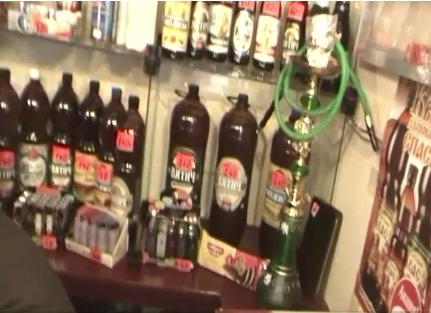 В кафе на Советском тракте незаконно торговали алкоголем