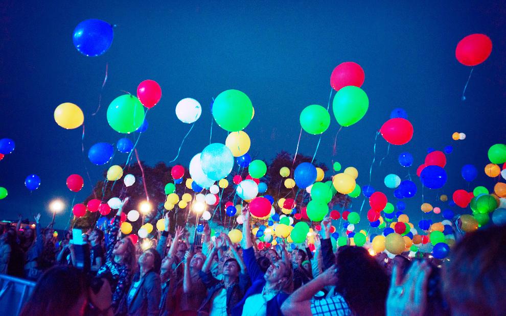 Сегодня в Кирове запустят светодиодные воздушные шары