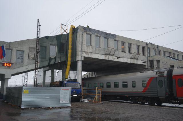 Ремонт конкорса на кировском вокзале завершится в декабре