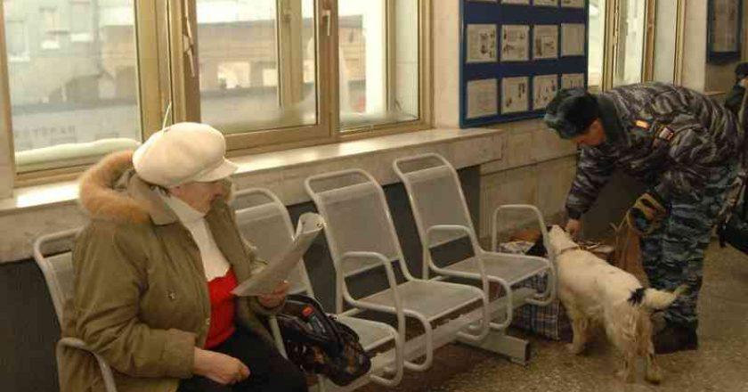 На железнодорожном вокзале в Кирове усилили меры безопасности