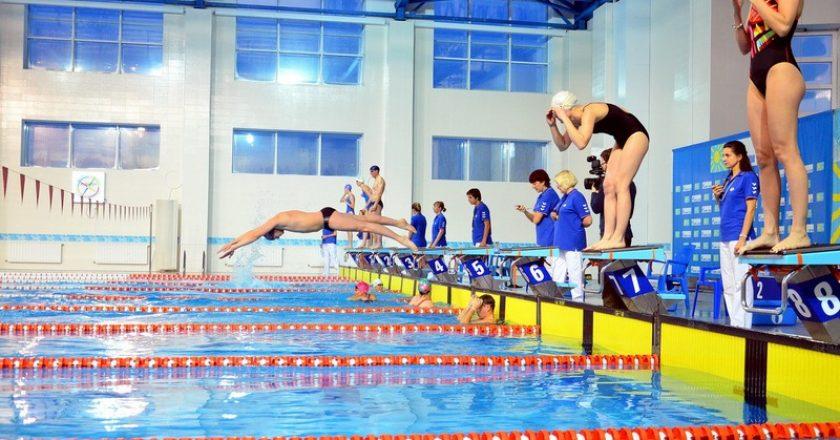 В водном дворце «Быстрица» состоялся VIP-заплыв