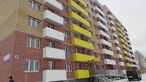 В Кирове введен в эксплуатацию новый дом для переселенцев из ветхого и аварийного жилья