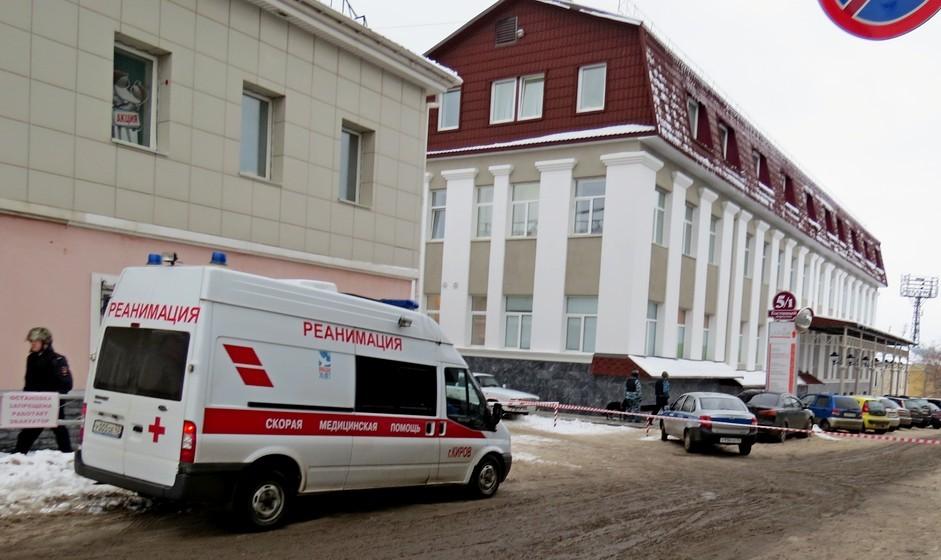 Медцентр у Центральной гостиницы эвакуировали из-за коробки с какао