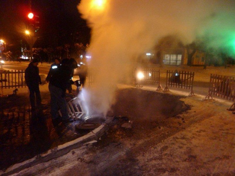 Из-за прорыва трубопровода жители 139 домов Кирова остались без тепла