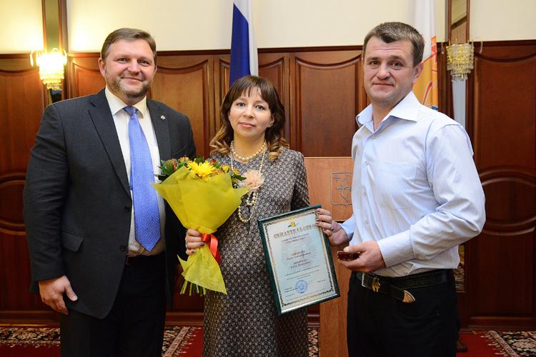 Обладательница знака «Семейная слава» Елена Кокорина родила пятого сына