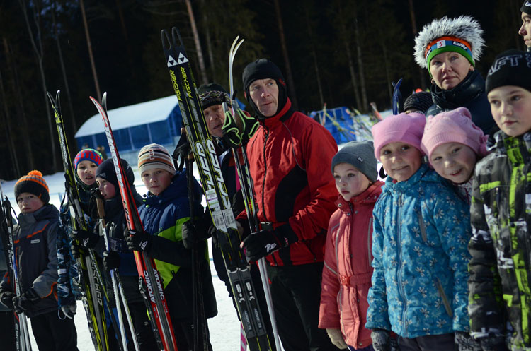 В лыжно-биатлонном комплексе «Перекоп» прошла новогодняя лыжная гонка