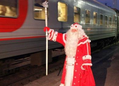 Кировские железнодорожники готовят новогодние сюрпризы для пассажиров