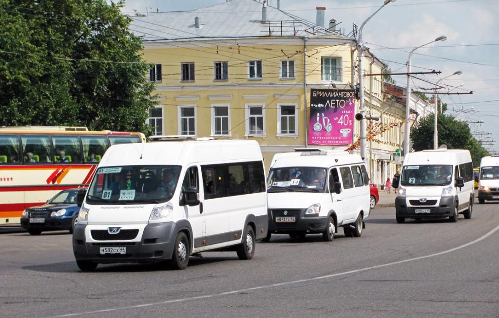 В Костроме меняется система работы пассажирского транспорта