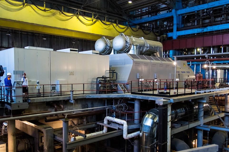 Новая турбина Кировской ТЭЦ-4 отметила год со дня запуска