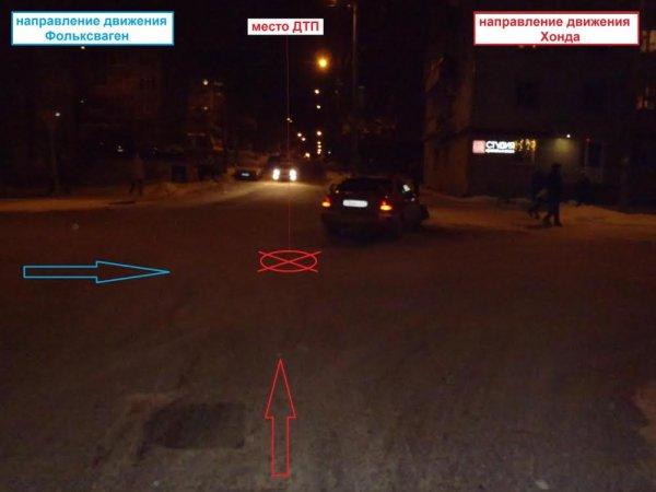 В Кирове столкнулись две иномарки: один пострадавший