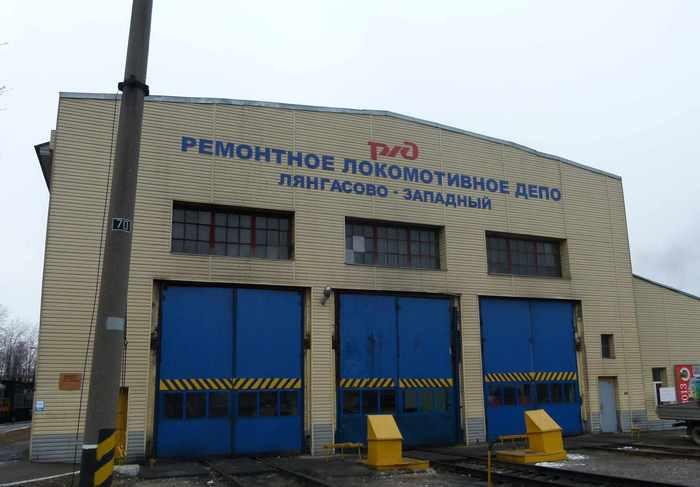 На станции Лянгасово появится памятник-паровоз