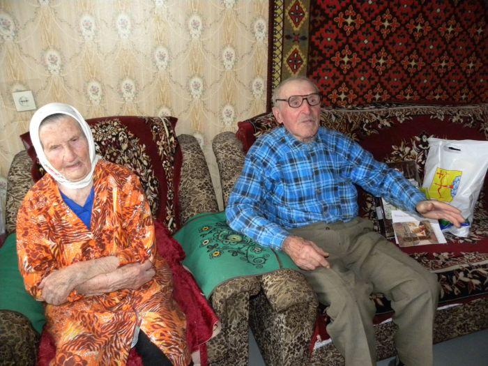 Чета Булдаковых из Восточного отметила 70 лет совместной жизни