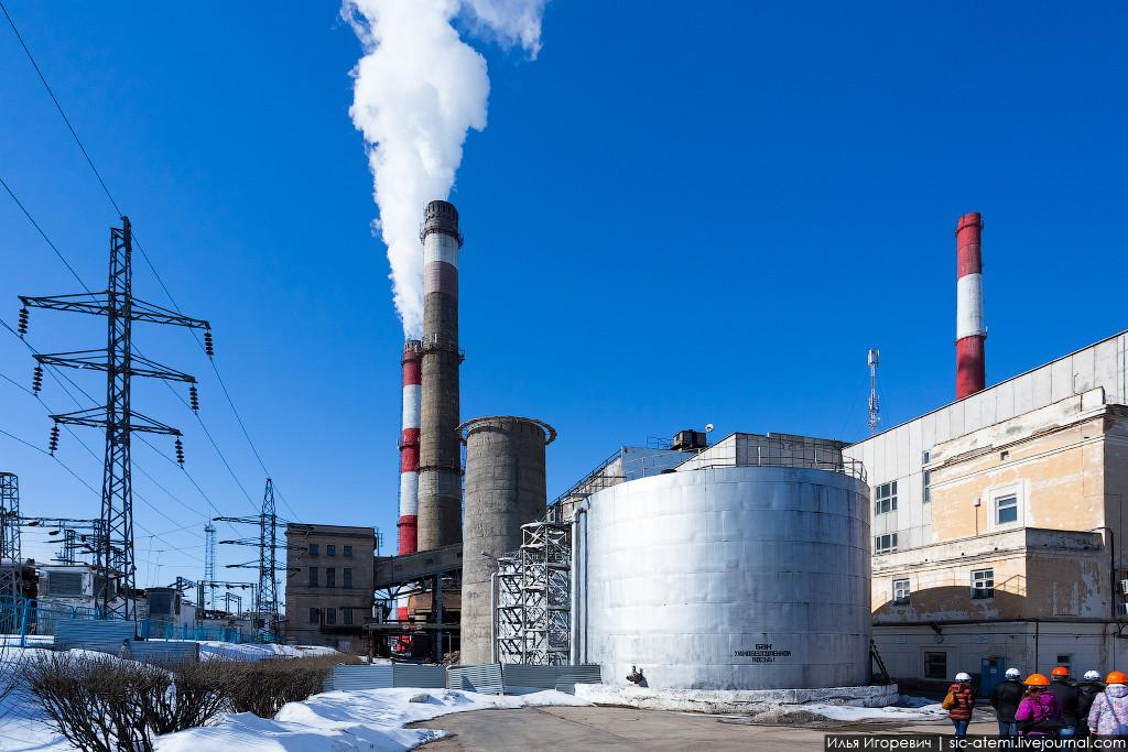 На Кировской ТЭЦ-3 завершен демонтаж дымовой трубы №1
