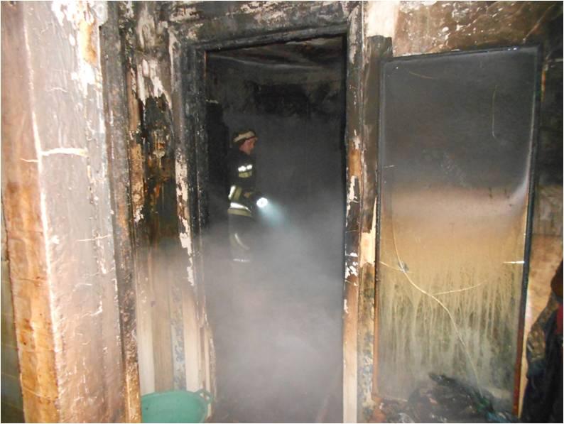 В Орлове пожар унес жизни трех человек