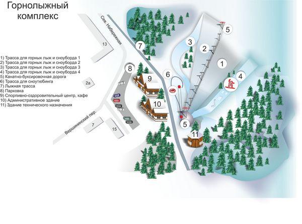 Две спортивные федерации поборются за право строительства горнолыжного комплекса на Филейке