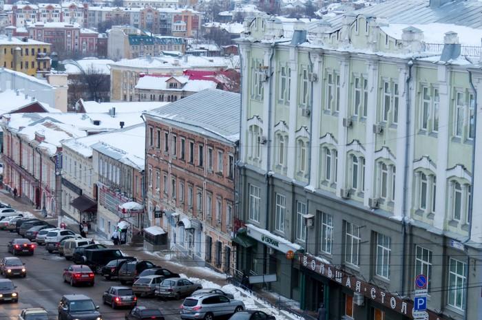 В Кирове фасады домов на улице Ленина оформят в едином стиле