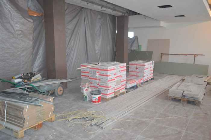 Ремонт конкорса на кировском вокзале завершится в марте