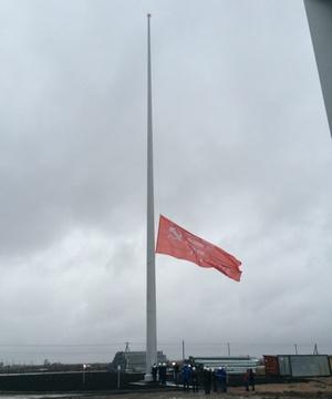 В Кирове установят 50-метровый флагшток с копией знамени Победы