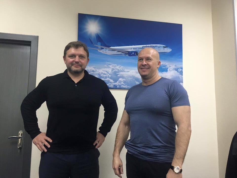 Никита Белых встретился с руководством авиакомпании «Победа»
