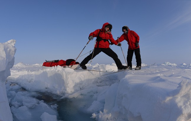 Кировская школьница готовится покорить Северный полюс
