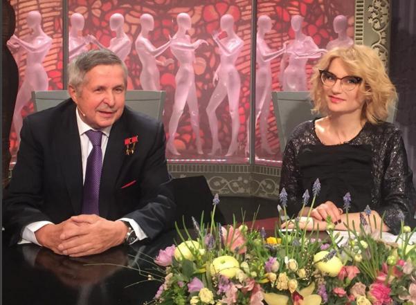 Виктор Савиных привел жену на программу «Модный приговор»