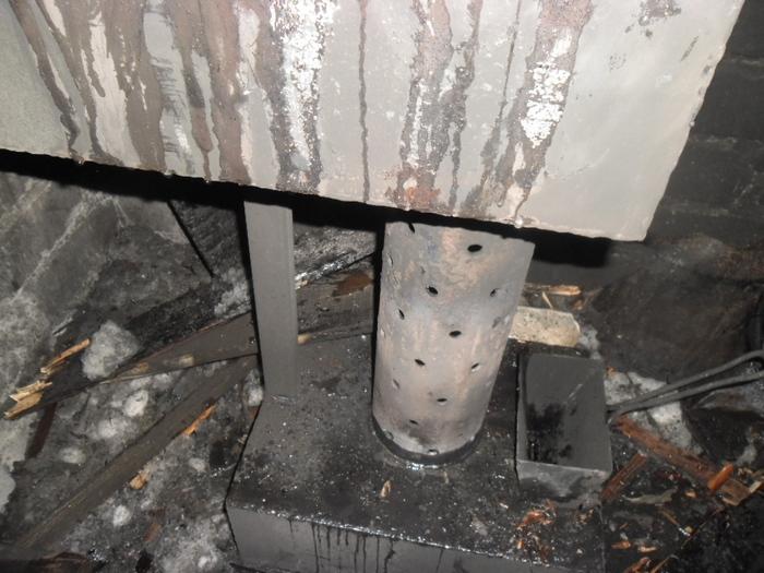 В Кирове мужчина чуть не сгорел, разжигая «буржуйку»