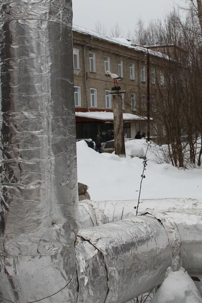 Теплотрассу Нововятской больницы защитили