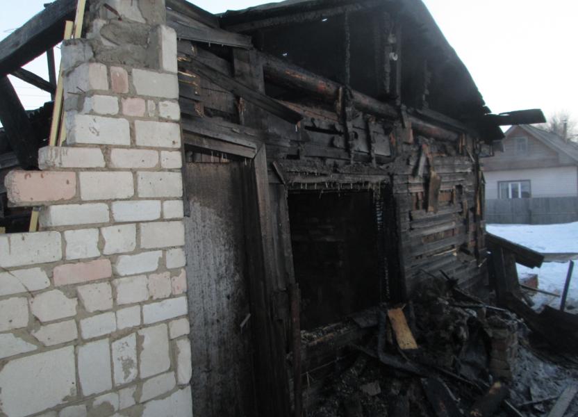 В Нововятске в пожаре погиб мужчина