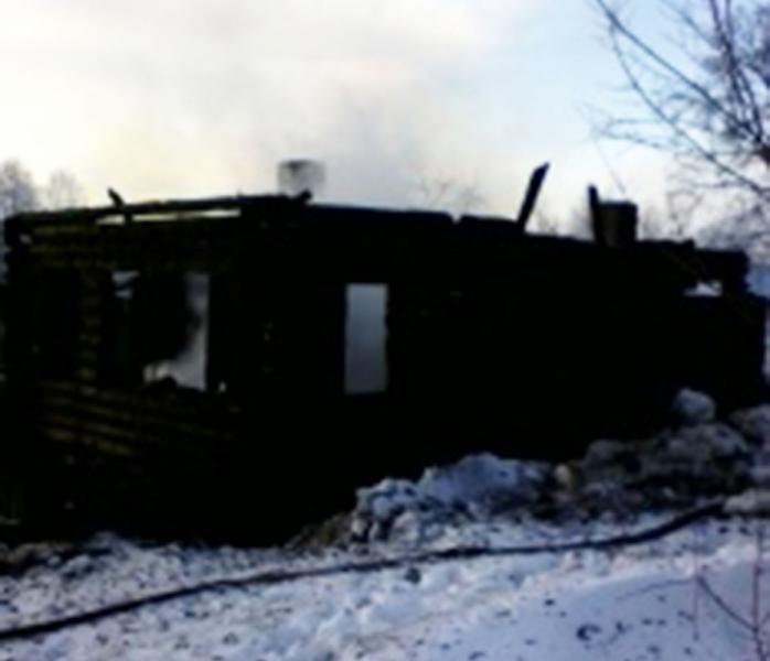 В Советском районе в собственном доме заживо сгорели мать и сын