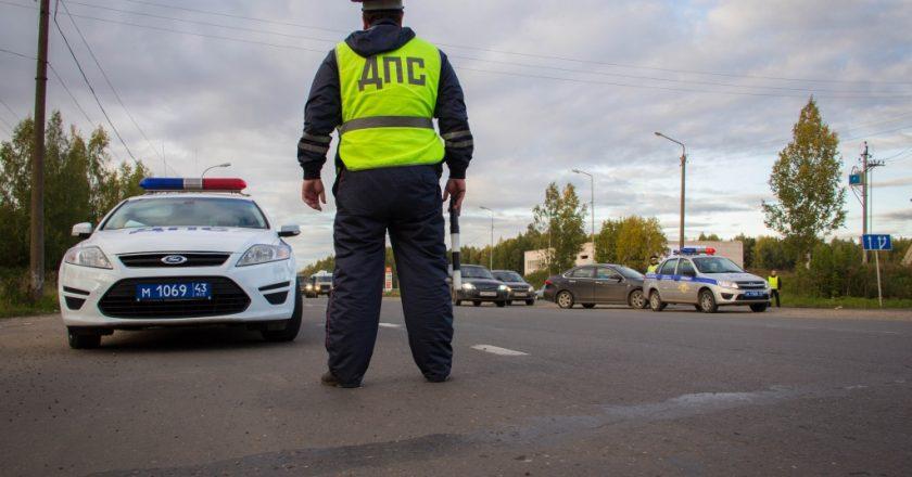 За выходные в Кирове пойманы 14 пьяных водителей