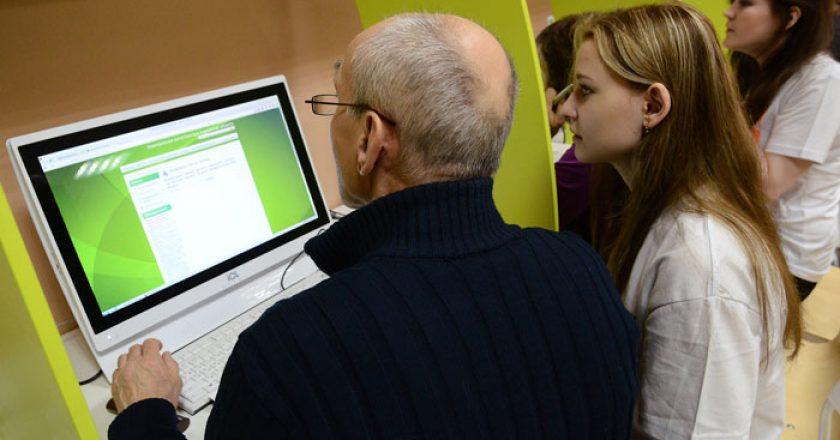 В Кирове впервые проходит фестиваль компьютерной грамотности «Бабушка в сети»
