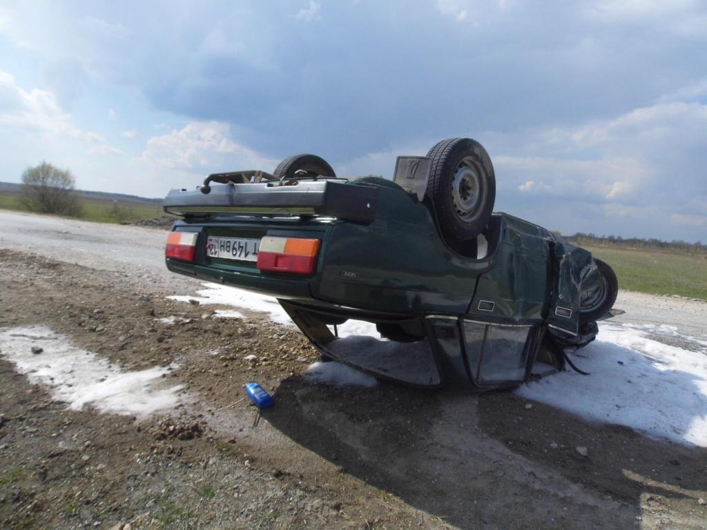 В Яранском районе водитель «семерки» погиб после опрокидывания машины