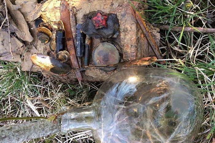 Отряд кировских поисковиков нашёл медальон солдата, числившегося пропавшим без вести