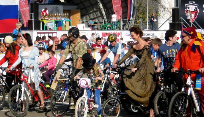 Велопарад сказочных героев пройдет в Кирове