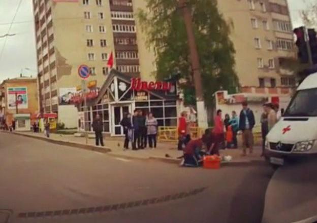 В центре Кирова умер велосипедист