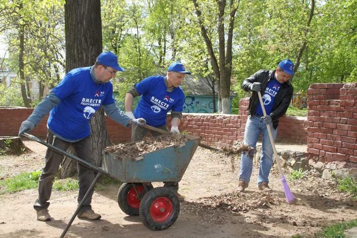 Волонтеры преобразили парк Аполло в Кирове