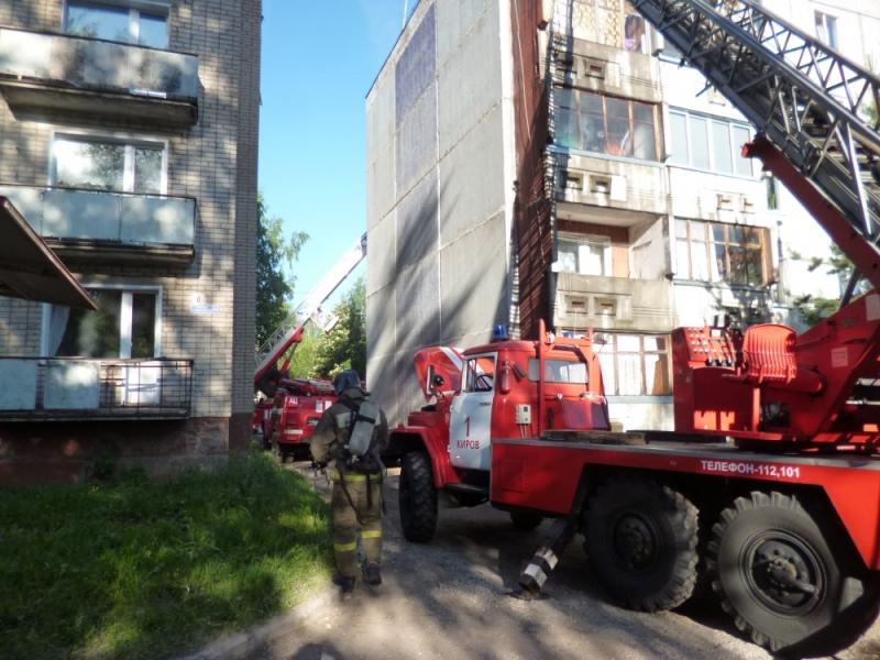 На Студенческом проезде горела многоэтажка: пострадали две женщины