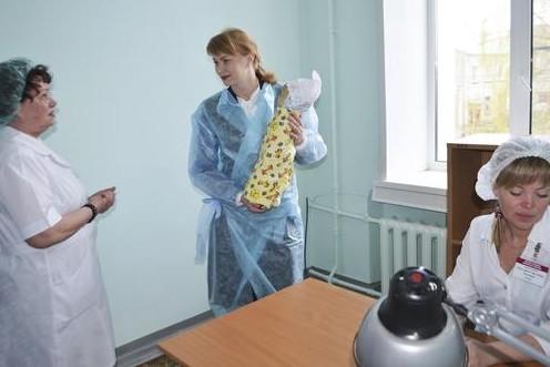 В Кирове отремонтировано родильное отделение Северной больницы
