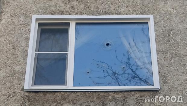 В Кирове неизвестные обстреляли окна квартиры предпринимателя