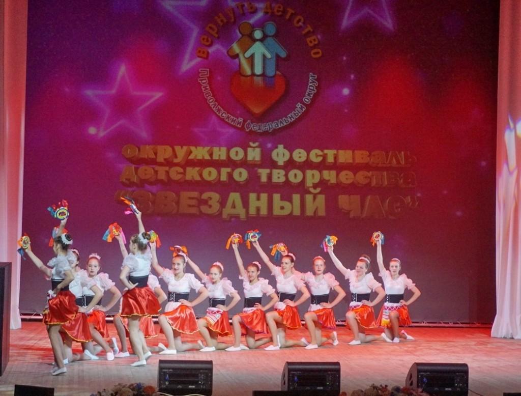 Вятские звездочки стали лауреатами окружного фестиваля «Звездный Час» в г.Воткинске