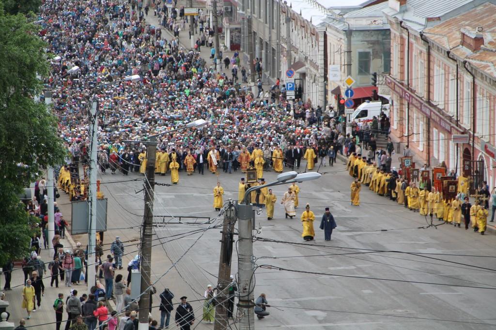 Начался Великорецкий крестный ход в Кирове