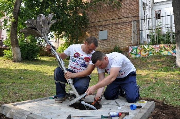 ККС установили первые питьевые фонтаны в г. Кирове