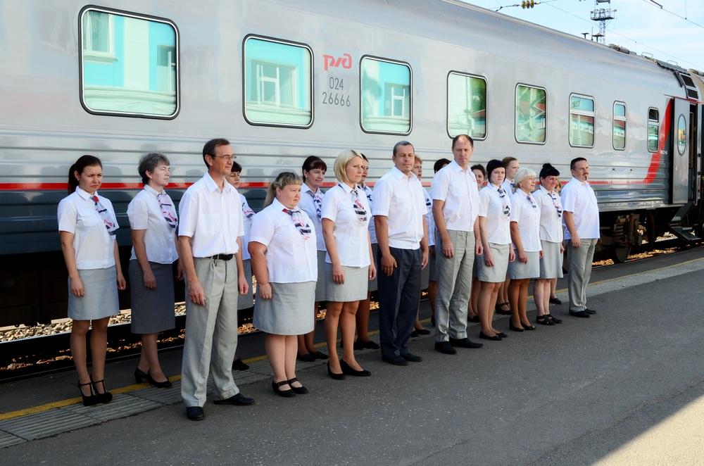 Фирменный поезд «Вятка» празднует день рождения
