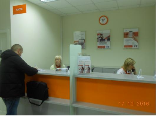 Офис энергосбытовой компании в Оричах преобразился