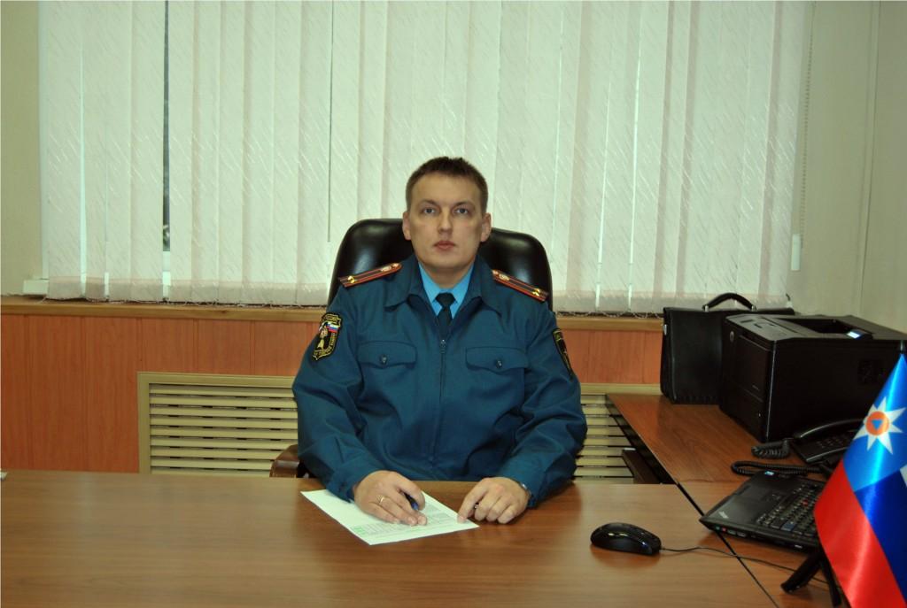 Гаряев Артём Николевич главный государственный инспектор Кирова по пожарному надзору