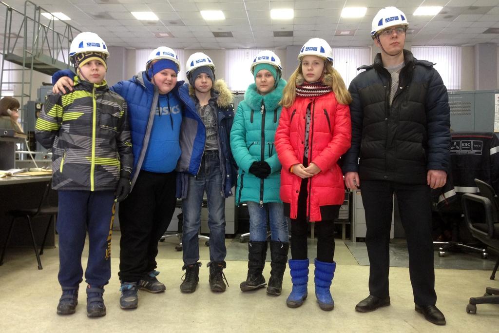 Кировские школьники побывали на ТЭЦ-4
