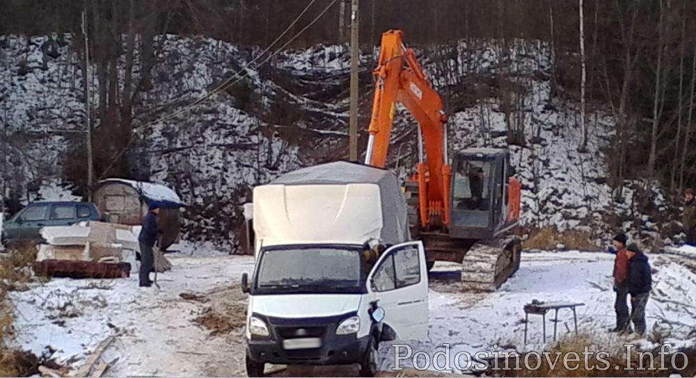 В Подосиновском районе «Газель» провалилась под лед