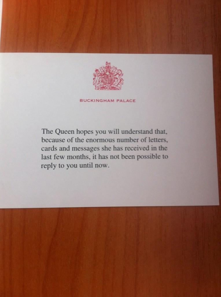 Королева Великобритании написала письмо котельничским школьникам