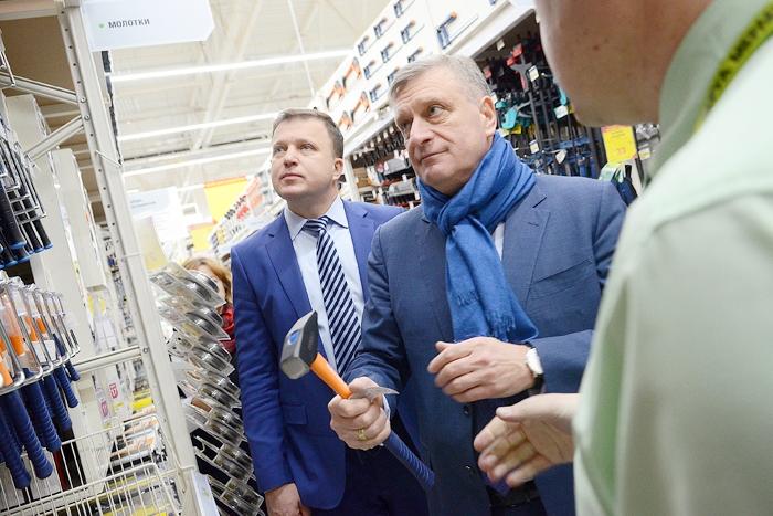 Игорь Васильев стал первым покупателем «Леруа Мерлен» в Кирове