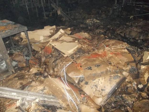 Рано утром на улице Строителей сгорели 200 килограммов печенья
